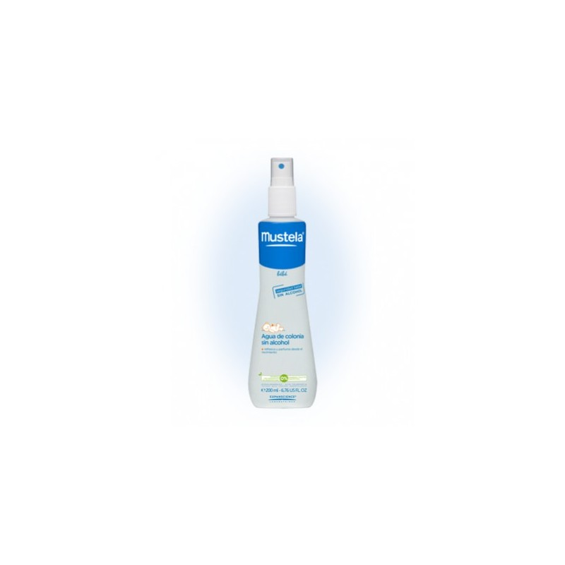 MUSTELA BEBÉ AGUA DE COLONIA SIN ALCOHOL 200 ml