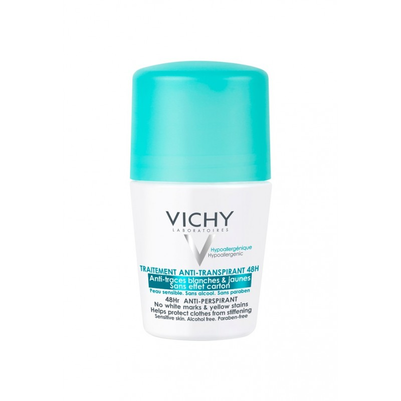 VICHY Desodorante roll-on anti-marcas 50 ml