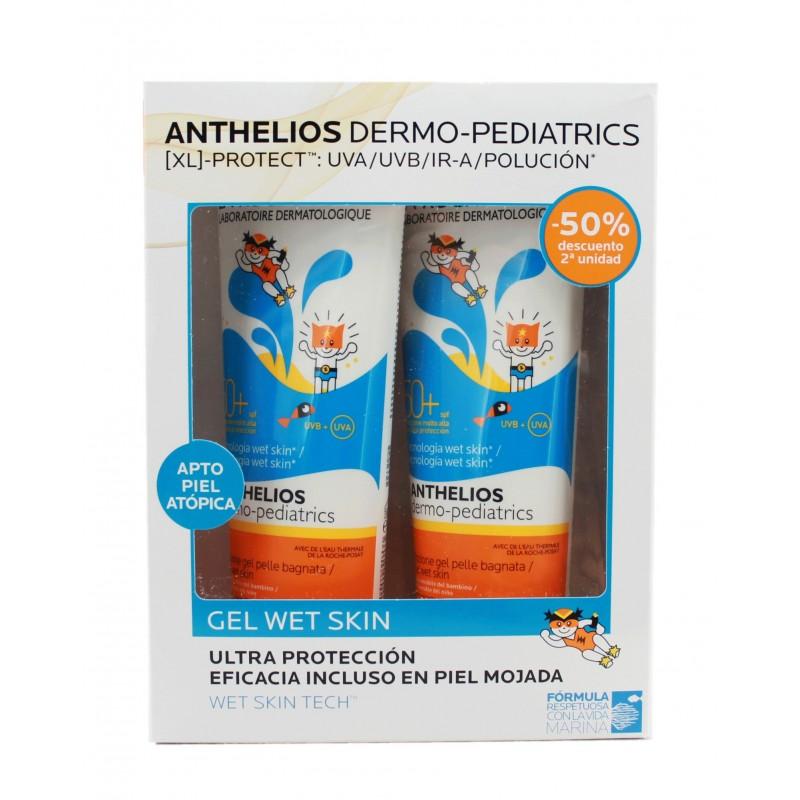 foto La Roche Posay Anthelios Pediatrics Duplo Gel Wet Skin SPF50+ 2x250ml