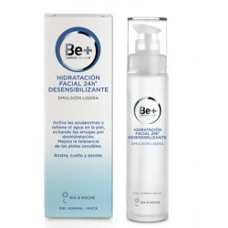 Be+ 24H Emulsion Facial Ligera Desensibilizante 50 ml