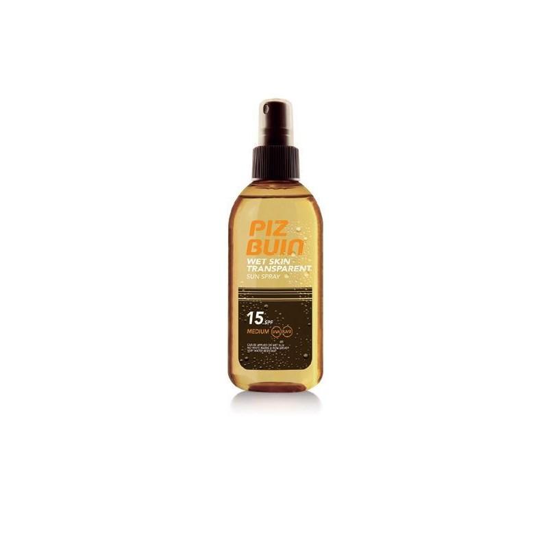 PIZ BUIN Wet Skin Oil Spray 15 SPF 150ml