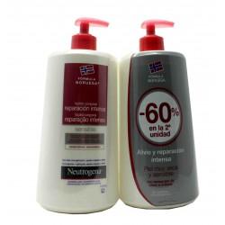 Neutrógena Loción Corporal Reparación Intensa Piel Sensible Duplo 2X750 ml