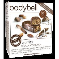 Bodybell Barritas Choco-Crunch  5 Uds 1ª Fase