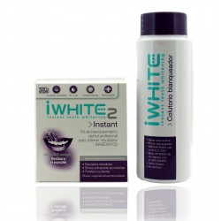 i White Pack Colutorio 500 ml +  10 Moldes Instant Blanqueantes