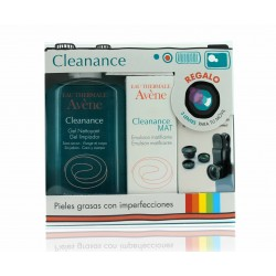 Avene Cleanance Pack Gel Limpiador 200 ml + Cleanance Mat Emulsion 40 ml + 3 Objetivos Móvil.