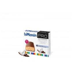 Bimanan Pro Barrita Chocolate y Coco 6 Uni 27 g