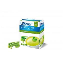 Bimanan Crema Verduras 6 Sobres 55 g