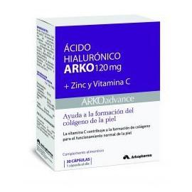 Arko Acido Hialuronico 120 mg 30 Capsulas
