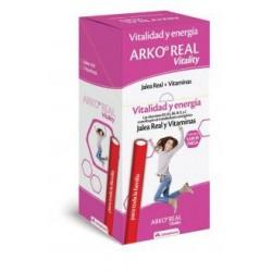 Arkoreal Vitality Jalea Real + Vitaminas 50 Barritas 25 g