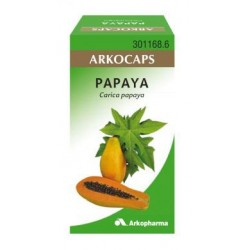 Arko Papaya 300 mg 50 Capsulas