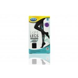 Dr Scholl medias de compresión light legs NEGRO 60 den talla XL