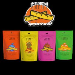 Gummy line sabor fresa 42 unid