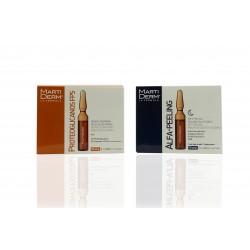 Martiderm Pack Proteoglicanos 30 Ampollas Fps30 + Alfa Peeling 10 Ampollas.