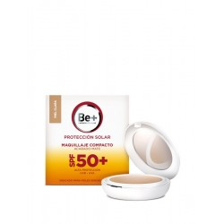 Be+ Solar Maquillaje Compacto F50+ Piel Clara 10 g