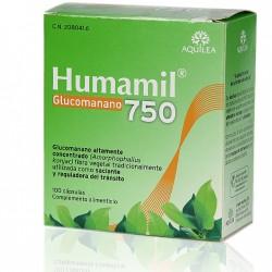 Humamil 750 mg 100 cápsulas