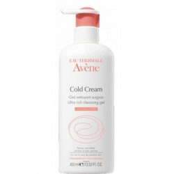 Avene Gel Limpiador Cold Cream 400 ml