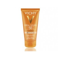 Vichy Ideal Soleil  SF50+ BB Cream Facial Coloreada Acabado Seco 50 ml