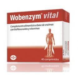 Wobenzim Vital 40 Comprimidos