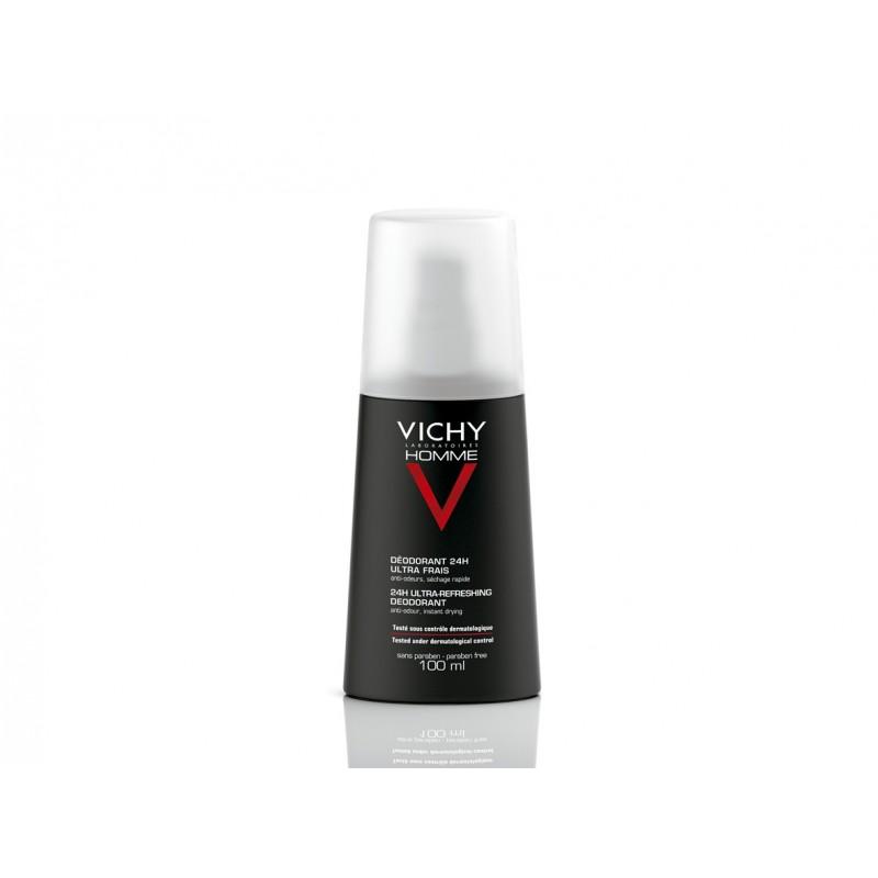 VICHY HOMME Desodorante Vaporizador Ultra-Fresco 100 ml