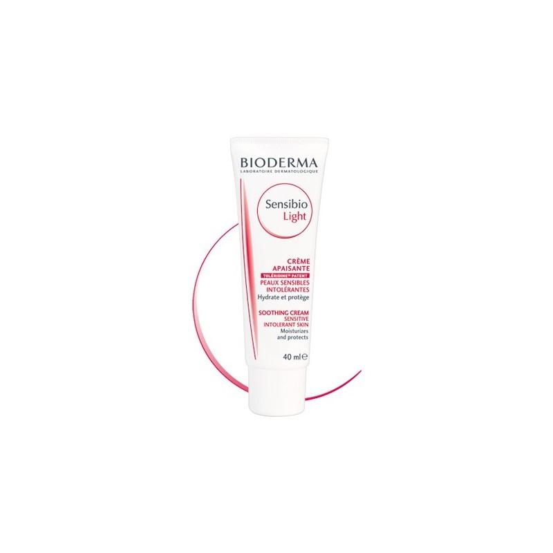 BIODERMA Sensibio CremaLigera  Hidratante/calmante (piel normal/seca) Tubo 40 ml