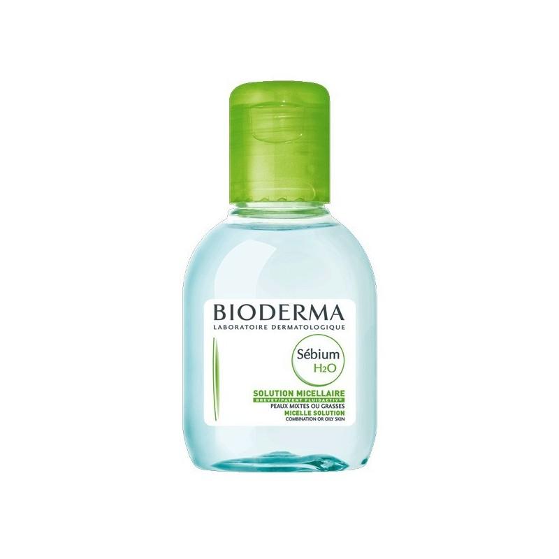 BIODERMA Sébium H2O Solución micelar específica acné promocional Frasco 100 ml