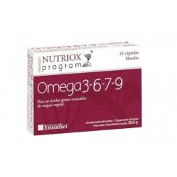 Nutriox Program Omega 3-6-7-9 45 Perlas