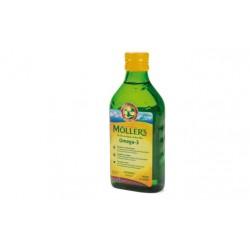 Mollers Omega3 Aceite Bacalao Sabro Limon 250 ml