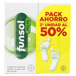Funsol Polvo Duplo Promocion 2x60 g