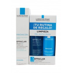 la Roche Posay Effaclar Duo 40 ml + Regalo Kit de Limpieza