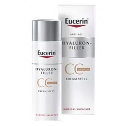 Eucerin Hyaluron Filler CC Cream SPF15 Tono Medio 50 ml