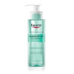 Eucerin Dermopure Oil Control Gel Limpiador Facial 200ml