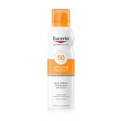 Eucerin Spray Transparente Dry Touch SPF50 200ml