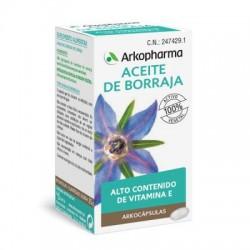 Arkofluido Aceite Borraja 50 Capsulas