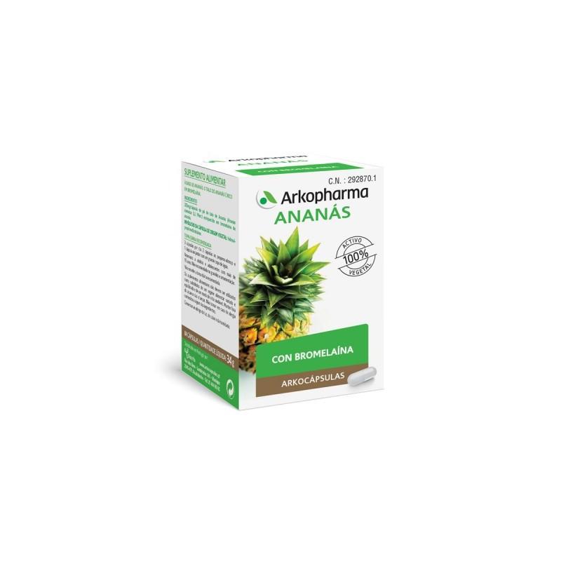 Arko Ananas (Piña) 325 mg 84 Capsulas