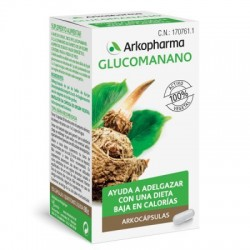 Arko Glucomanano (Konjac) 150 Capsulas