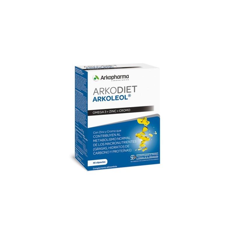 Arkoleol Metaboliza Grasas 45 Capsulas