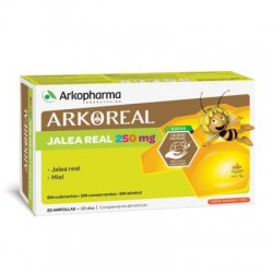 Arkoreal Jalea Real Fresca Niños 250 mg 20 Ampollas Bebibles