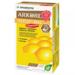 Arkoreal Jalea Real Vitaminada 500 mg 20 Ampollas Bebibles