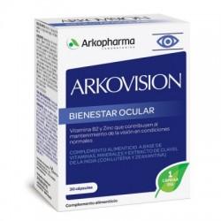 Arkovision Vitaminas Bienestar Ocular 30 Capsulas