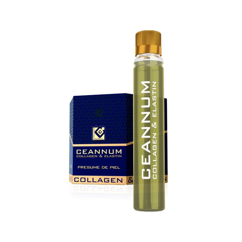 Ceannum Colageno y Elastina 10 viales x 25 ml