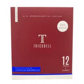 Tricobell Pack Alopecias Seborreicas 12 Ampollas + Champu 250 ml