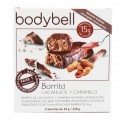 Bodybell Barritas Cacahuete y Caramelo 5 Uds 1ª Fase