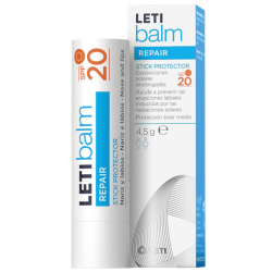 Letibalm Repair Stick Protector Nariz y Labios SPF20 4g