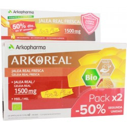 Arkoreal Jalea Real Forte Plus Bio 1500 mg Duplo 2x20 Unidosis