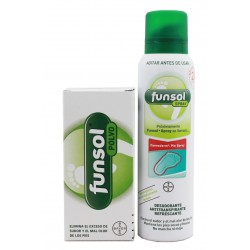 Funsol Polvo 60 g + Funsol Spray 150 ml