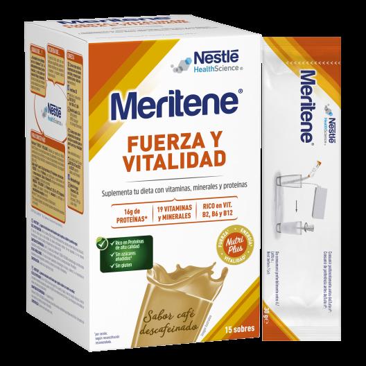 Nestle Meritene sabor café 15 sobres