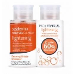 Sesderma Sensyses Lightening Desmaquillante Cara y Ojos Duplo 2X200 ml