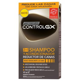 Just For Men Control GX Champu + Acondicionador Reductor de Canas 147 ml