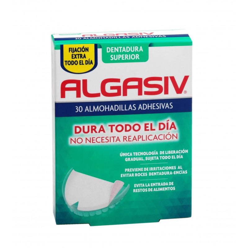 Algasiv Almohadillas dentadura superior  30 unidades