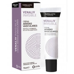 Farmalastic Novum Venaliv Invisible Crema Arañas Vasculares 75 ml